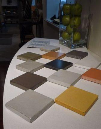 concrete countertop samples