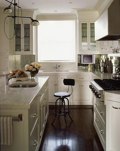 Industrial Chic Kitchen: Spotted: Industrial Chic Barstools By Kimberly Reuther