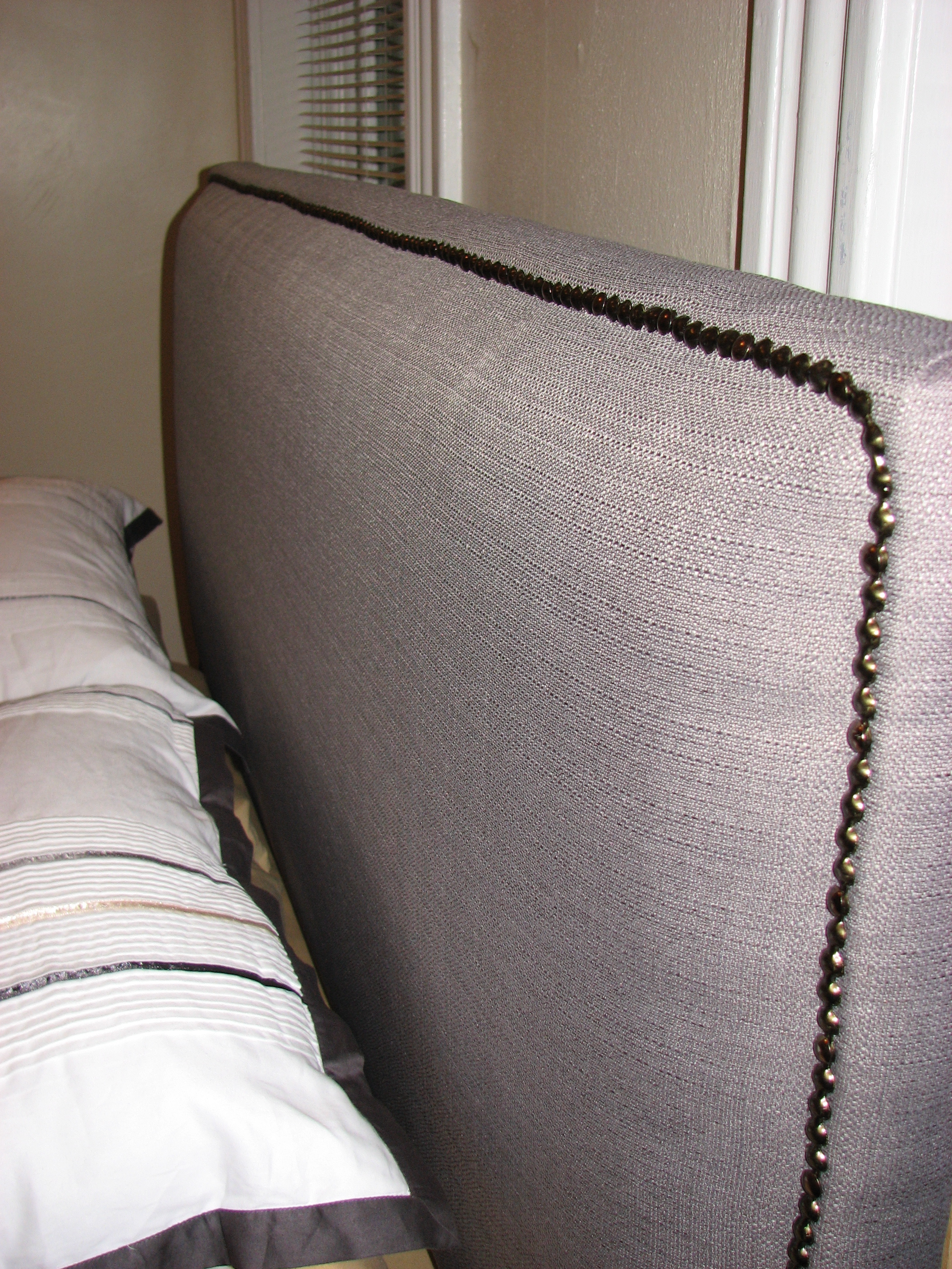 Diy Upholstered Headboard Wall Part 1 By Andrea Beckman