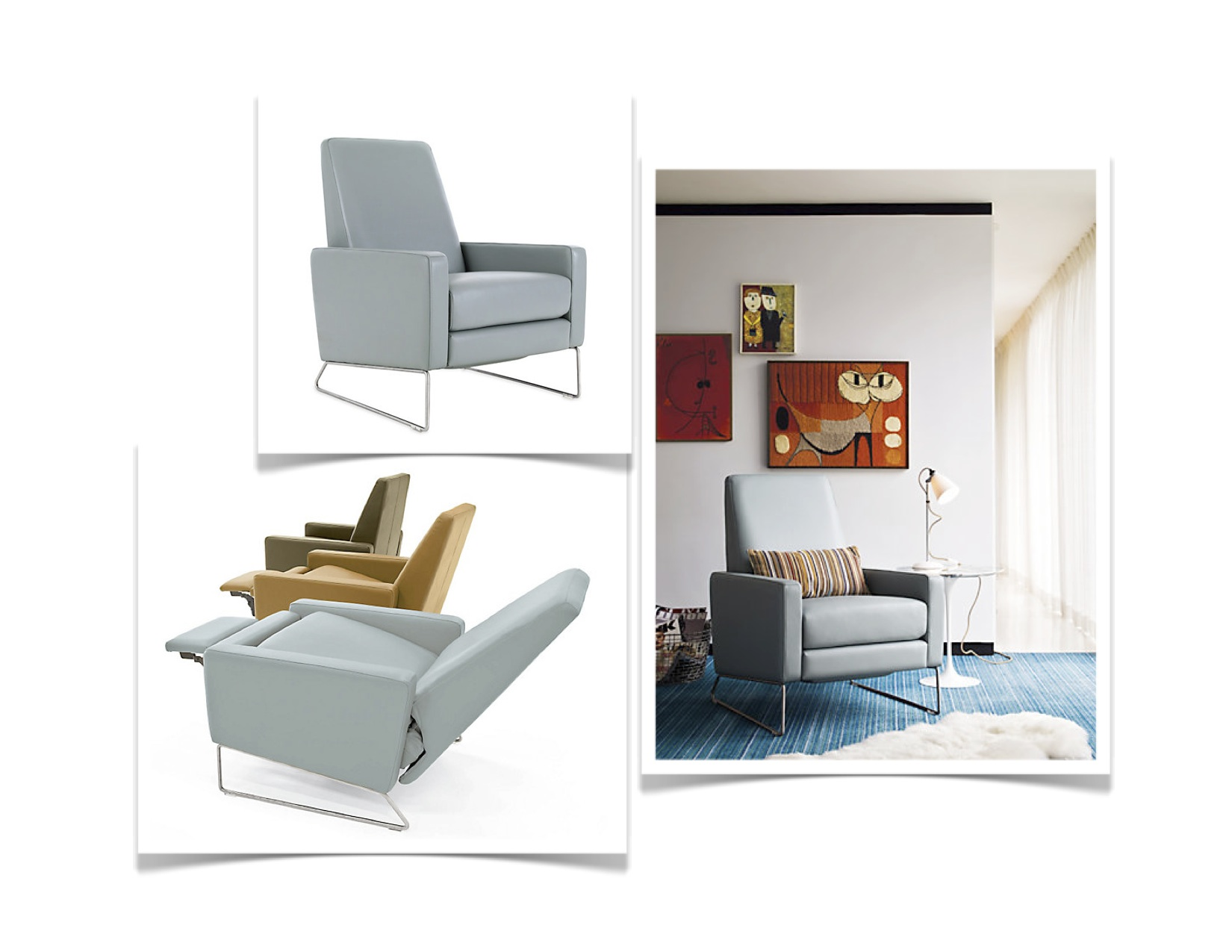 Design 101 Embracing The Recliner By Kimberly Reuther