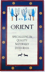orient-wall-sign